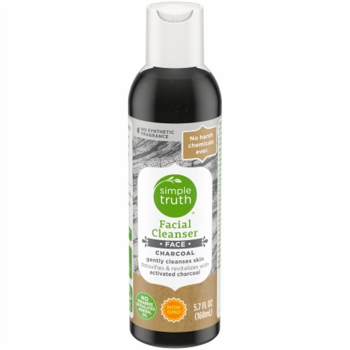 Simple Truth® Charcoal Facial Cleanser Perspective: front