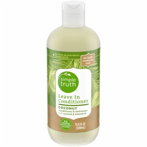 Simple Truth™ Coconut & Almond Oil Leave-In Conditioner Perspective: front