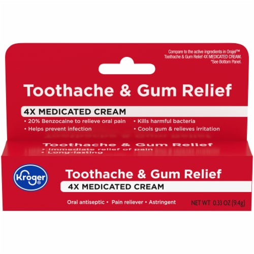 Kroger® Severe Toothache Ointment Perspective: front