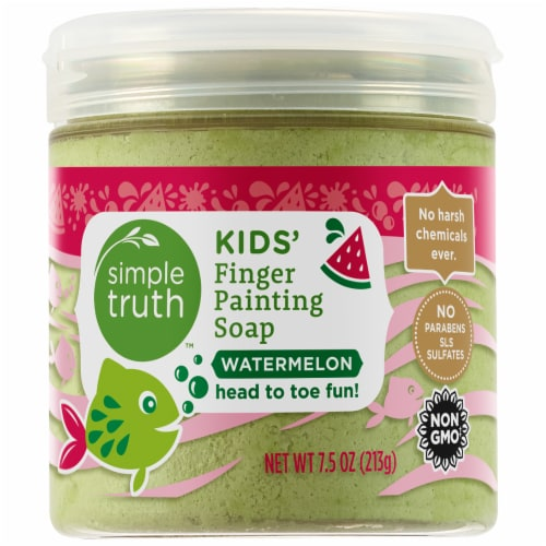 Simple Truth™ Kids' Watermelon Finger Paining Soap Perspective: front