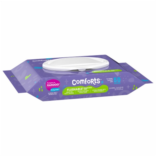 Kroger® Comfort Moist Wipes Perspective: front