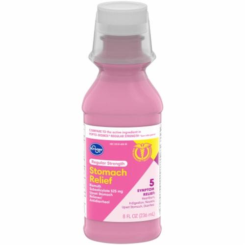 Kroger® Regular Strength Stomach Relief Liquid Perspective: front