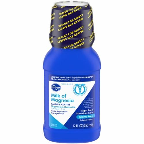 Kroger® Original Flavor Milk of Magnesia Saline Laxative Perspective: front