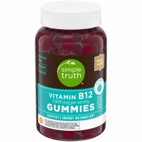 Simple Truth™ Vitamin B12 Gummies Perspective: front