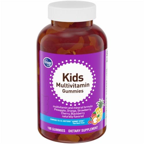 Kroger® Kids Gummies Multivitamins Perspective: front