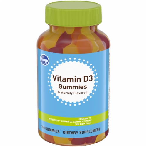 Kroger® Vitamin D3 Gummies Perspective: front