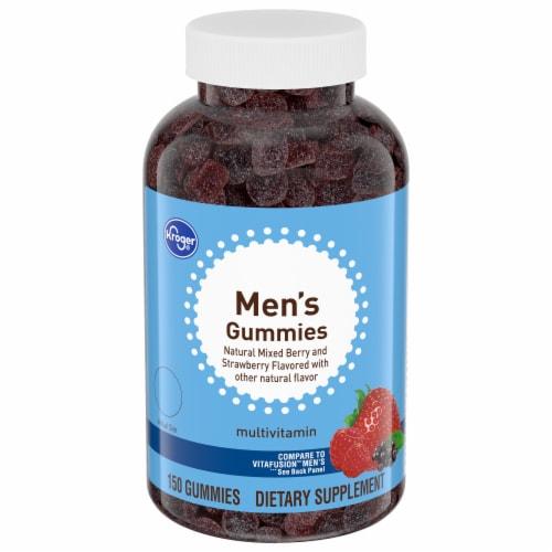 Kroger® Men's Mixed Berry Multivitamin Gummy Perspective: front