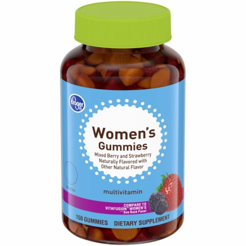 Kroger® Women's Gummies Multivitamins Perspective: front