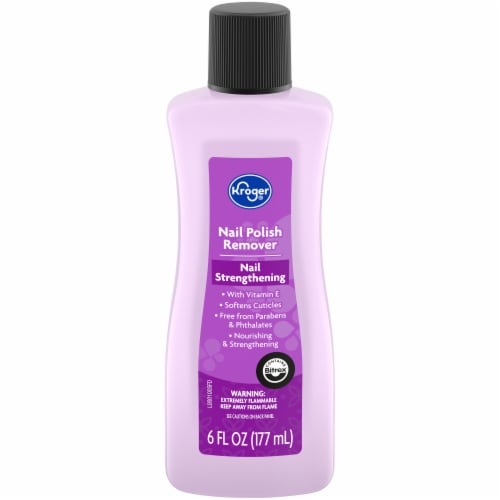 Kroger® Nail Strengthening Nail Polish Remover Perspective: front