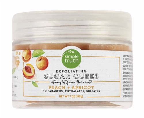 Simple Truth® Peach & Apricot Exfoliating Sugar Cubes Perspective: front