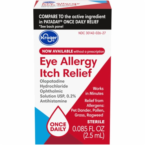 Kroger® Eye Allergy Itch Relief Perspective: front