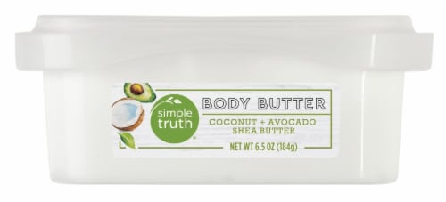 Simple Truth® Coconut & Avocado Shea Butter Body Butter Perspective: front