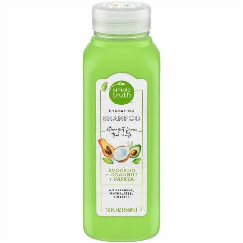 Simple Truth® Beauty Crate Avocado Coconut & Papaya Hydrating Shampoo Perspective: front