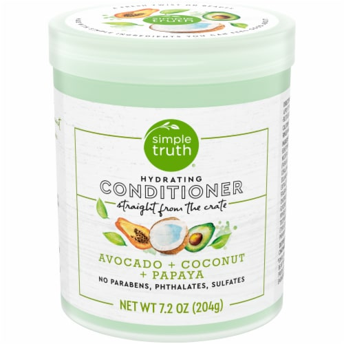 Simple Truth® Beauty Crate Avocado Coconut & Papaya Hydrating Conditioner Perspective: front