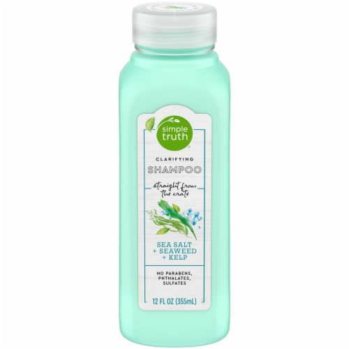 Simple Truth® Sea Salt Seaweed & Kelp Clarifying Shampoo Perspective: front