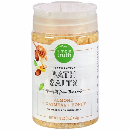 Simple Truth® Almond Oatmeal & Honey Restorative Bath Salts Perspective: front