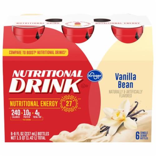 Kroger® Vanilla Bean Nutritional Drink Perspective: front