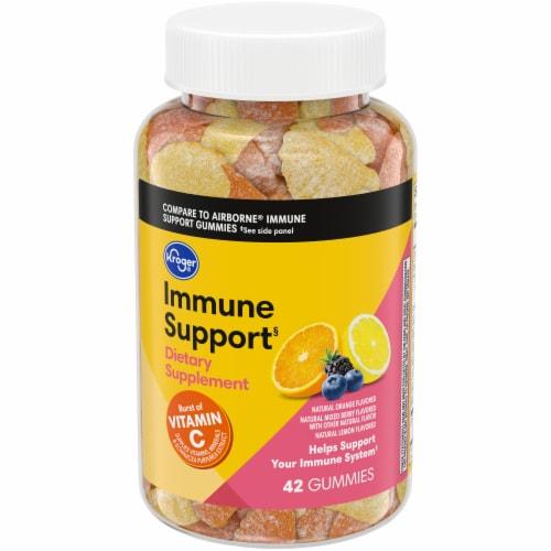 Kroger Vitamin C Immune Gummy Perspective: front