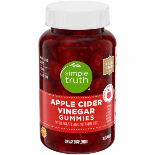 Simple Truth® Apple Cider Vinegar Gummy Perspective: front