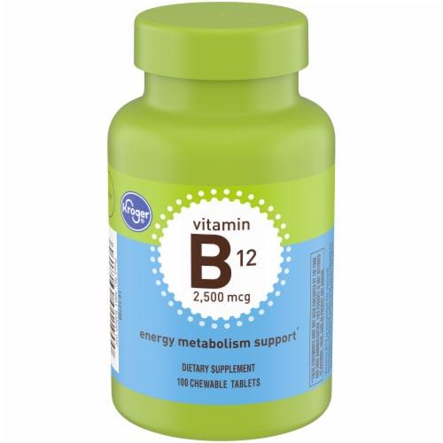 Kroger® Vitamin B12 Energy Metabolism Support 2500mcg Perspective: front