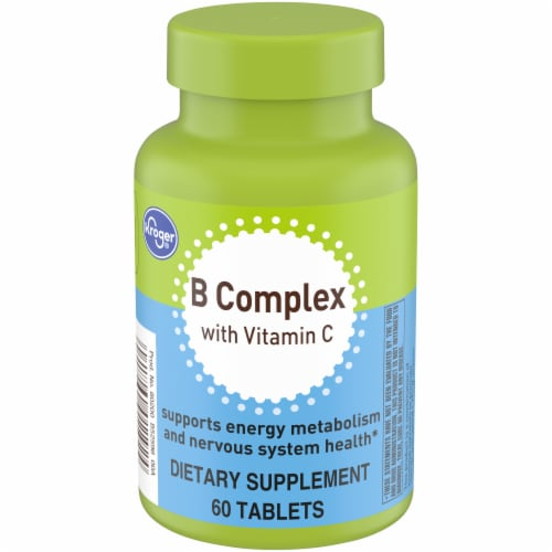 Kroger® B Complex with Vitamin C Perspective: front