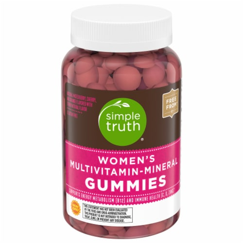 Simple Truth\u00AE Women's Gummy Multi-Vitamin Perspective: front