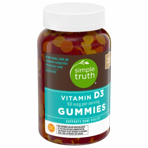 Simple Truth® Vitamin D3 Gummies Perspective: front