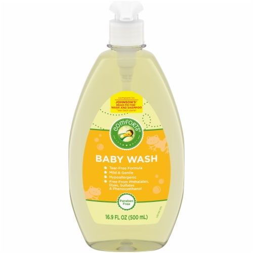 Comforts® Baby Wash Perspective: front