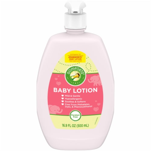 Comforts® Baby Lotion Perspective: front