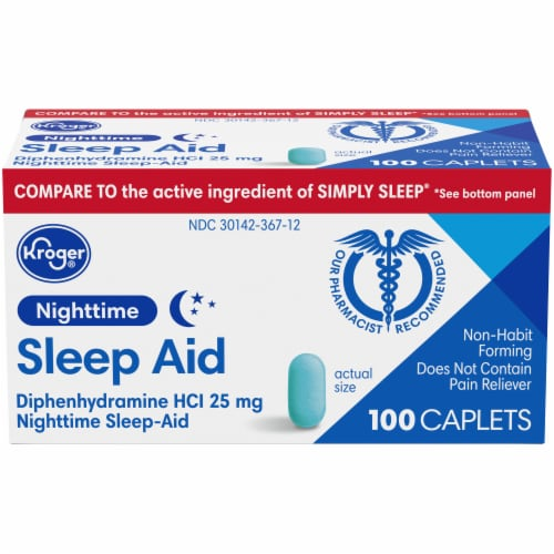 Kroger Nighttime Sleep-Aid Perspective: front
