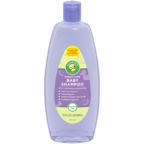 Comforts® Night-Time Baby Shampoo With Lavender & Chamomile Perspective: front