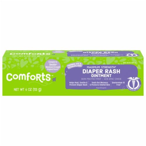 Comforts™ Maximum Strength Diaper Rash Ointment Perspective: front