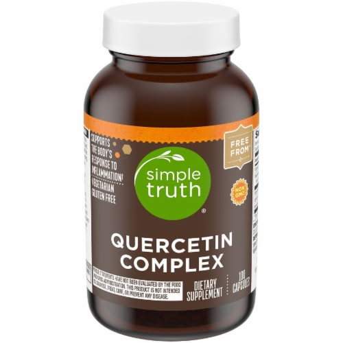 Simple Truth™ Quercetin Complex Capsules Perspective: front