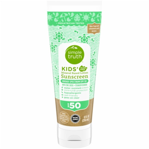 Simple Truth™ Kid's Mineral Based Lotion Sunscreen SPF 50 Perspective: front