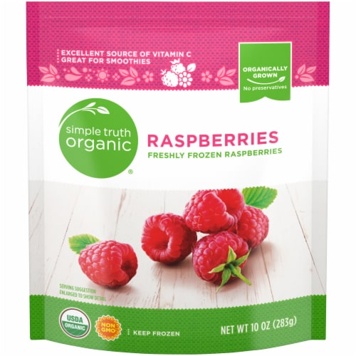 Simple Truth Organic® Freshly Frozen Raspberries Perspective: front