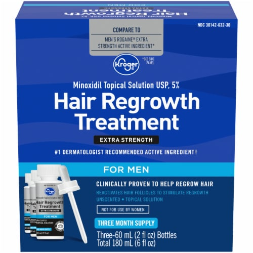 Kroger® Hair Regrowth Treatment for Men Perspective: front