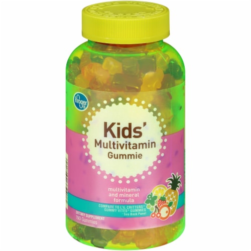 Kroger® Kids' Multivitamin Gummies Perspective: front