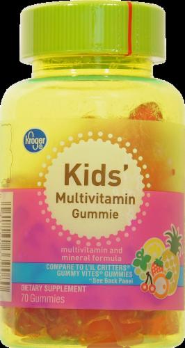 Kroger® Kids Multivitamin Gummies 70 Count Perspective: front
