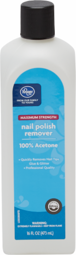 Kroger® Maximum Strength Nail Polish Remover Perspective: front