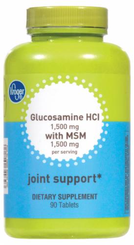 Kroger Kroger Glucosamine Hci With Msm Joint Support Tablets 90 Ct