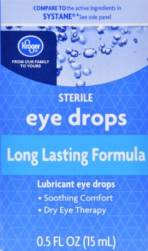 Kroger® Long Lasting Formula Eye Drops Perspective: front