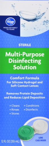 Kroger® Multi-Purpose Disinfecting Lens Solution Perspective: front