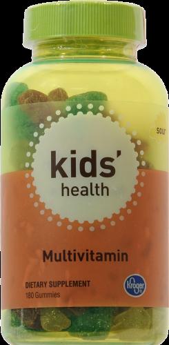 Kroger® Kid's Health Sour Multivitamin Gummies Perspective: front