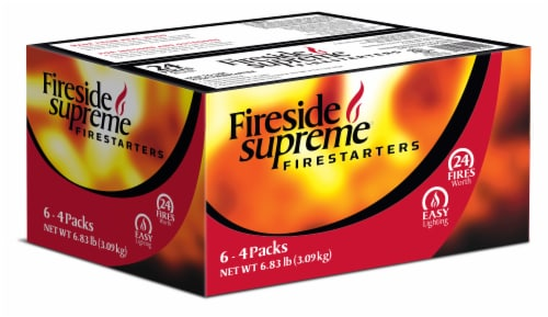 Fireside Supreme® Firestarters Perspective: front