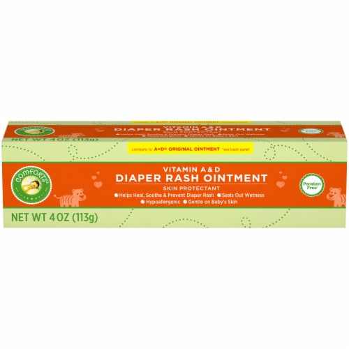 Comforts™ Vitamin A & D Diaper Rash Ointment Perspective: front