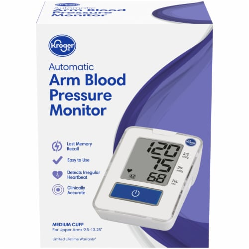 Kroger® Automatic Arm Blood Pressure Monitor Perspective: front