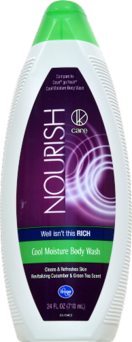 Kroger® Nourish Cool Moisture Body Wash Perspective: front