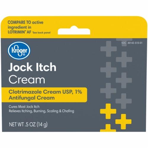 Kroger® Jock Itch Cream Perspective: front