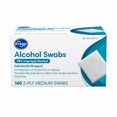 Kroger®  Alcohol Swabs Perspective: front