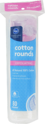 Kroger® 100% Cotton Exfoliating Rounds Perspective: front